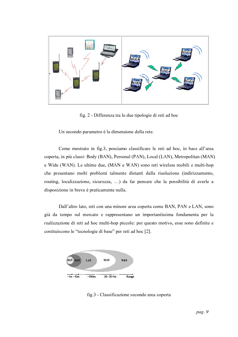 Anteprima della tesi: Tecniche di localizzazione per reti ''ad hoc'', Pagina 6