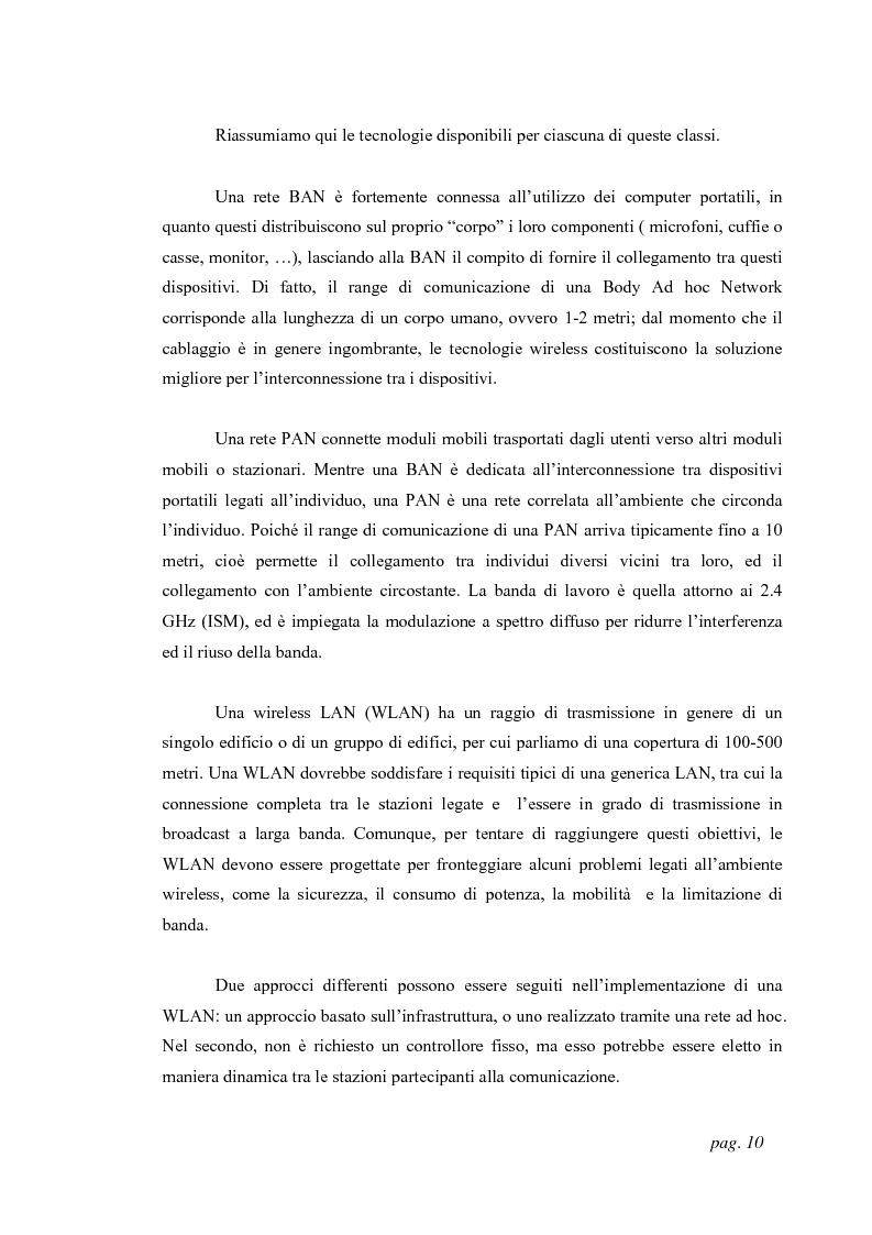 Anteprima della tesi: Tecniche di localizzazione per reti ''ad hoc'', Pagina 7