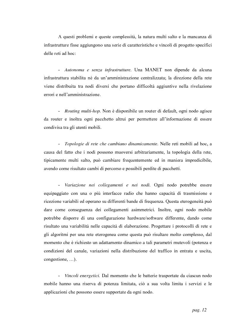 Anteprima della tesi: Tecniche di localizzazione per reti ''ad hoc'', Pagina 9