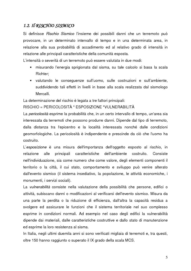 Anteprima della tesi: Confronto tra misure e modelli di amplificazione sismica a Balvano (PZ), Pagina 3