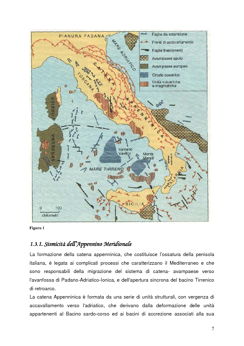 Anteprima della tesi: Confronto tra misure e modelli di amplificazione sismica a Balvano (PZ), Pagina 5