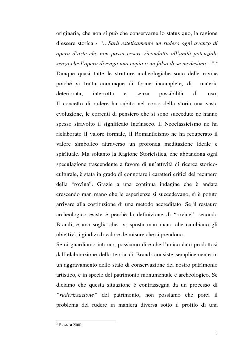 Anteprima della tesi: La manutenzione programmata sul sito archeologico di San Vincenzo al Volturno: Analisi e indagini preliminari sulla cappella di Santa Restituta, Pagina 2