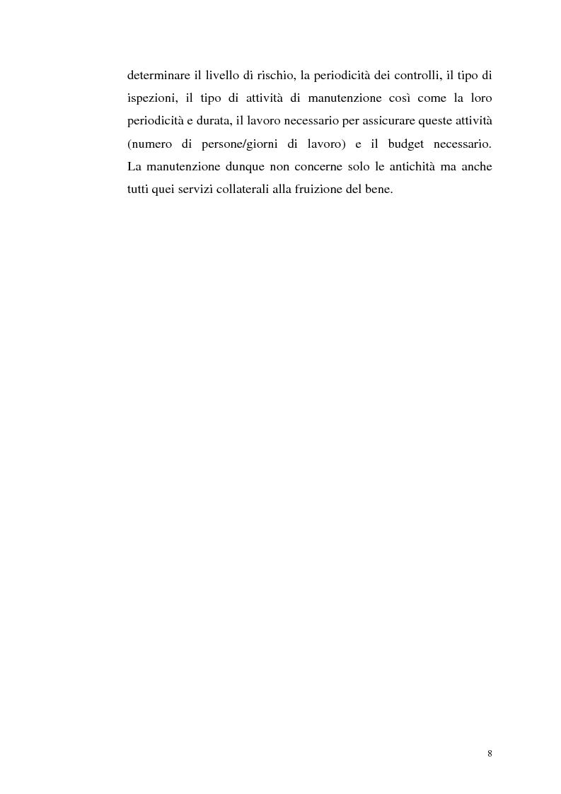 Anteprima della tesi: La manutenzione programmata sul sito archeologico di San Vincenzo al Volturno: Analisi e indagini preliminari sulla cappella di Santa Restituta, Pagina 7