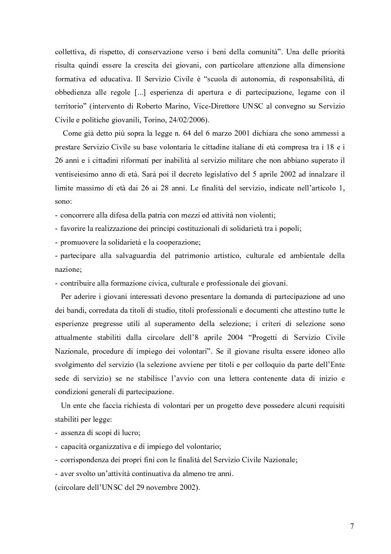 Anteprima della tesi: Partecipazione e cittadinanza attiva. Il punto di vista dei volontari di Servizio Civile Nazionale. Una ricerca empirica., Pagina 4