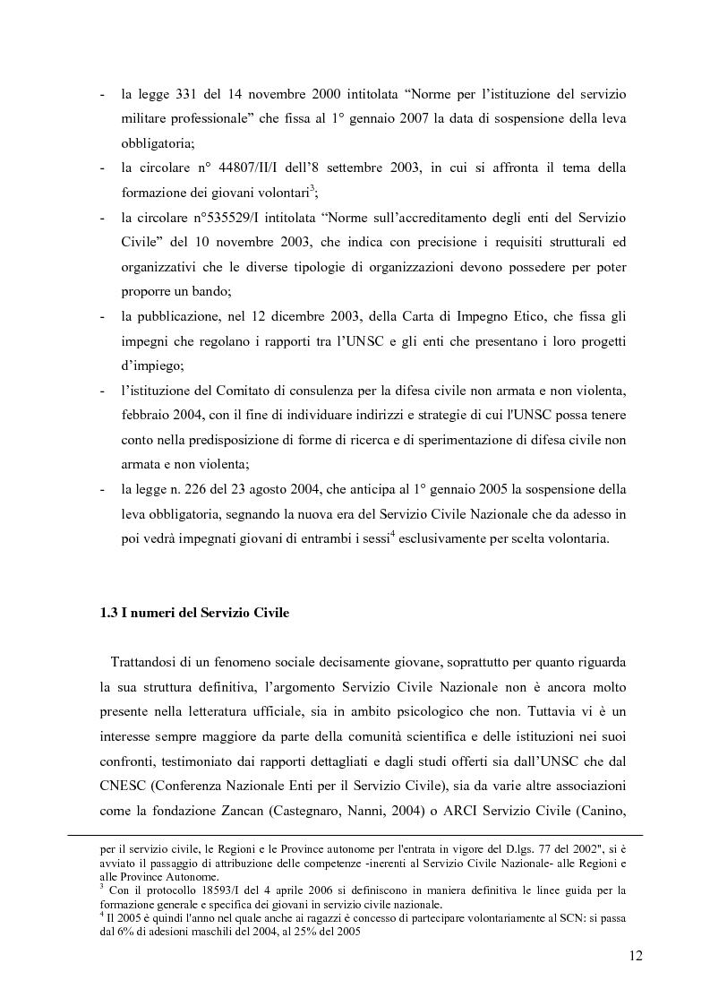 Anteprima della tesi: Partecipazione e cittadinanza attiva. Il punto di vista dei volontari di Servizio Civile Nazionale. Una ricerca empirica., Pagina 9