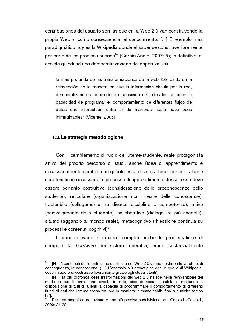 Anteprima della tesi: Insegnare l'italiano L2 a distanza: esperienze e progetti, Pagina 8