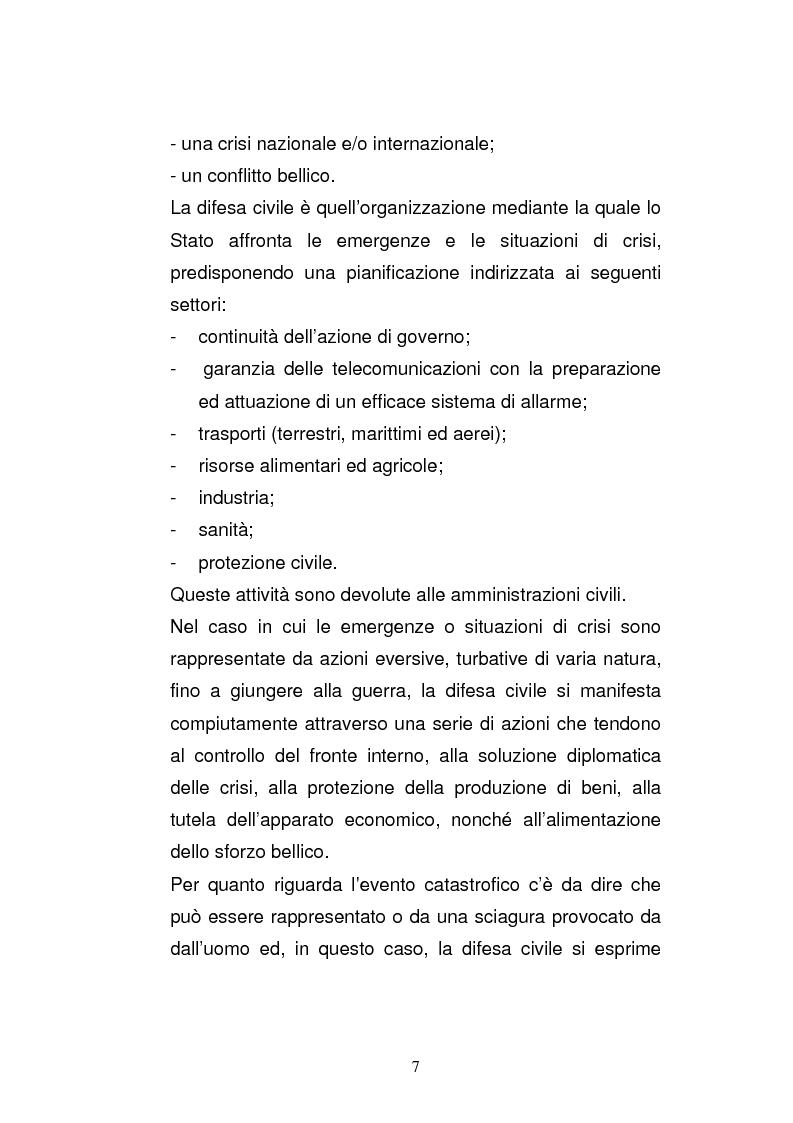 Anteprima della tesi: Cooperazione civile militare nelle operazioni di supporto alla pace, Pagina 5