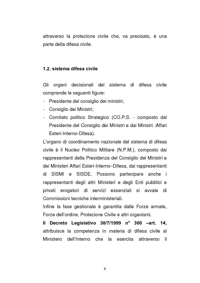 Anteprima della tesi: Cooperazione civile militare nelle operazioni di supporto alla pace, Pagina 6