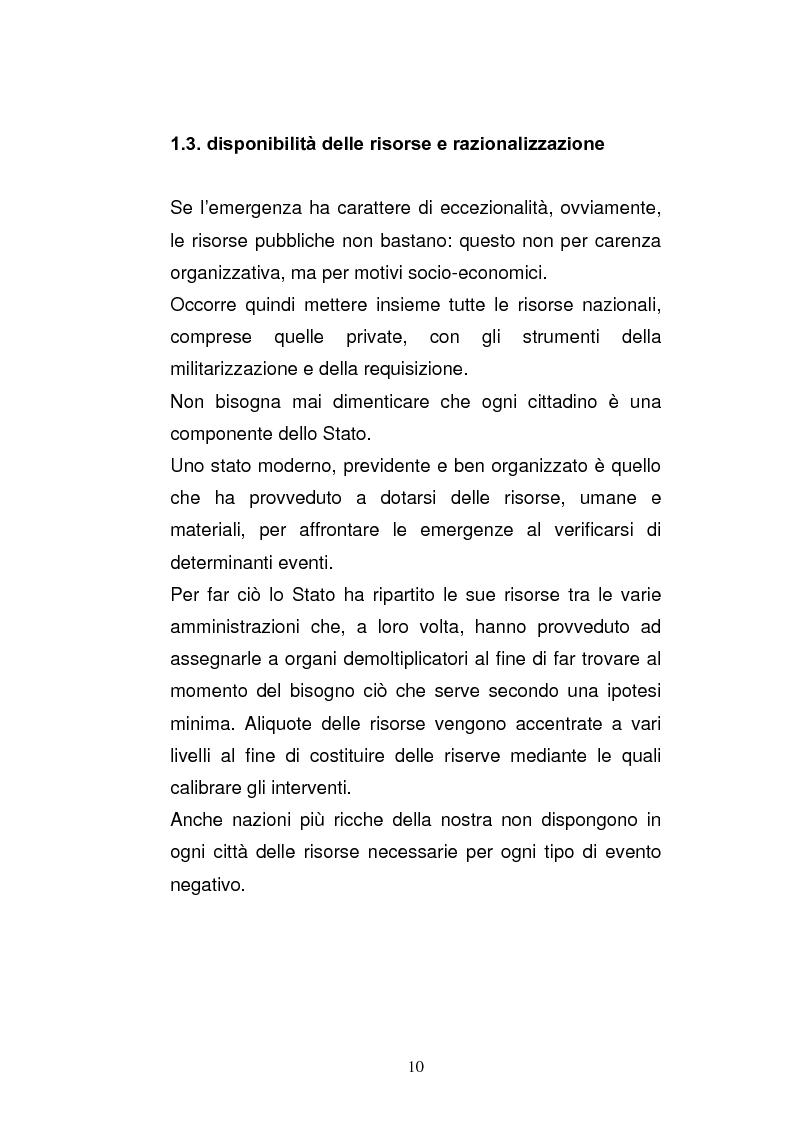 Anteprima della tesi: Cooperazione civile militare nelle operazioni di supporto alla pace, Pagina 8