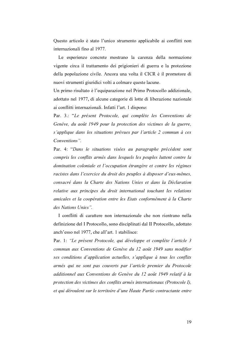 Anteprima della tesi: L'applicazione del diritto internazionale umanitario alle organizzazioni terroristiche, Pagina 14