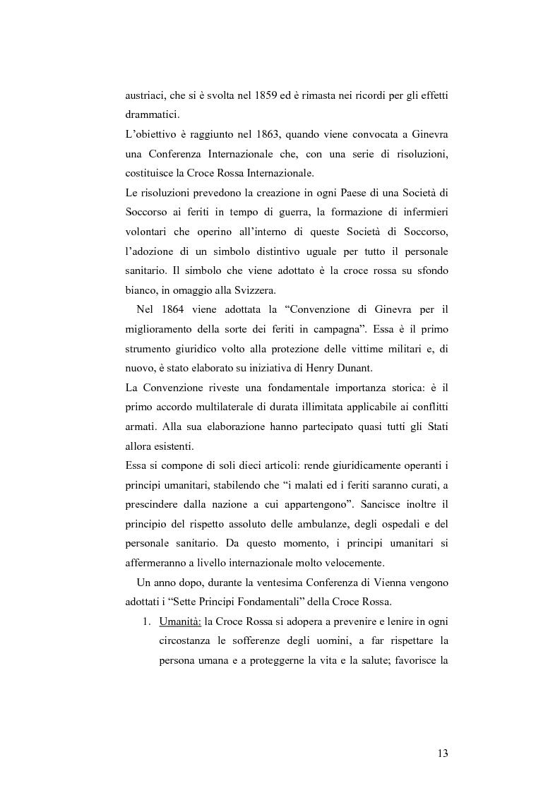 Anteprima della tesi: L'applicazione del diritto internazionale umanitario alle organizzazioni terroristiche, Pagina 8
