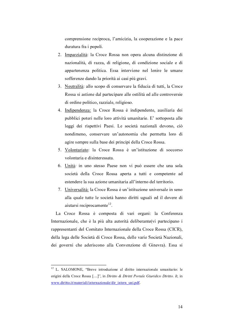 Anteprima della tesi: L'applicazione del diritto internazionale umanitario alle organizzazioni terroristiche, Pagina 9