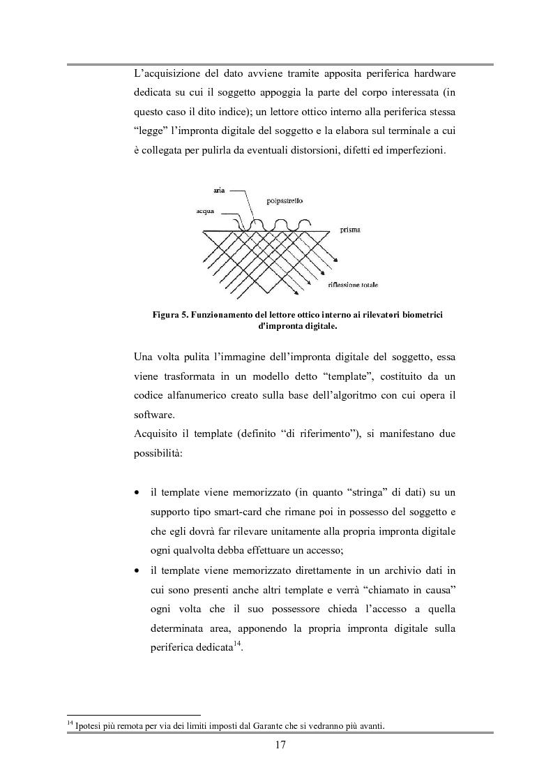 Anteprima della tesi: Le indagini tese al riconoscimento di autore di reato tramite immagini, Pagina 13