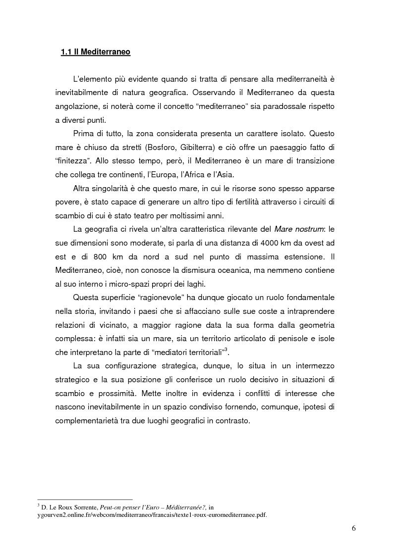 Anteprima della tesi: Comunicare i valori mediterranei: il caso Camper, Pagina 3