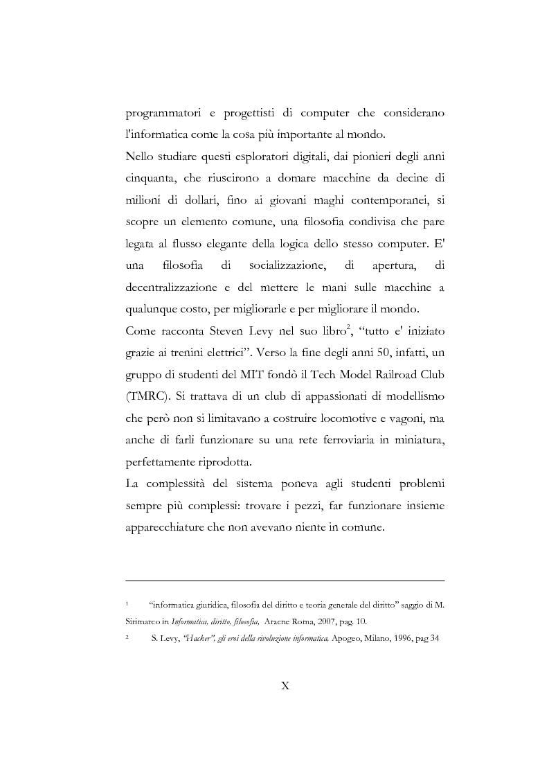 Anteprima della tesi: Etica hacker, Pagina 4