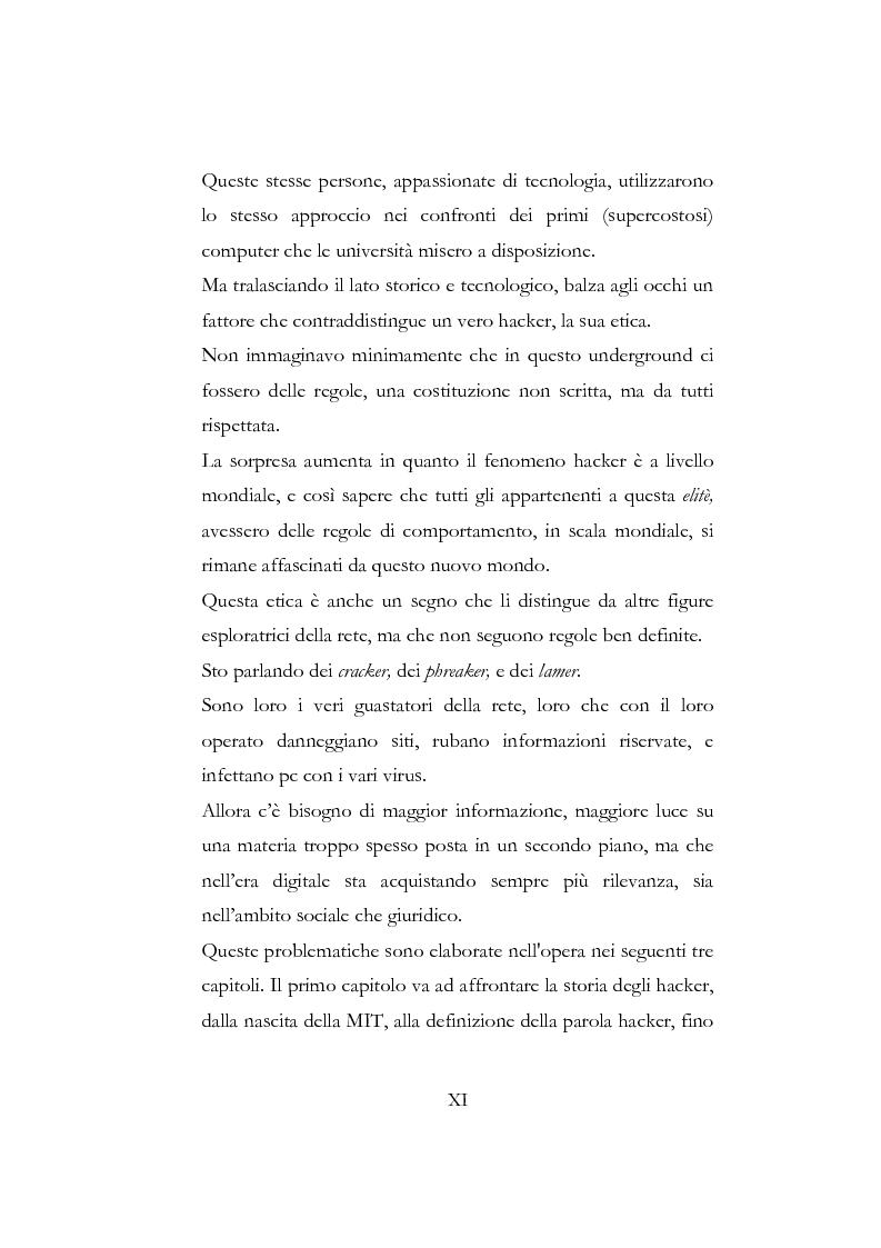 Anteprima della tesi: Etica hacker, Pagina 5