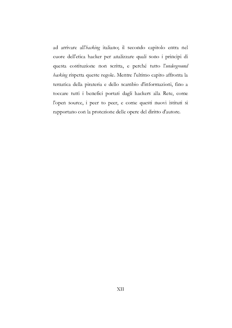 Anteprima della tesi: Etica hacker, Pagina 6