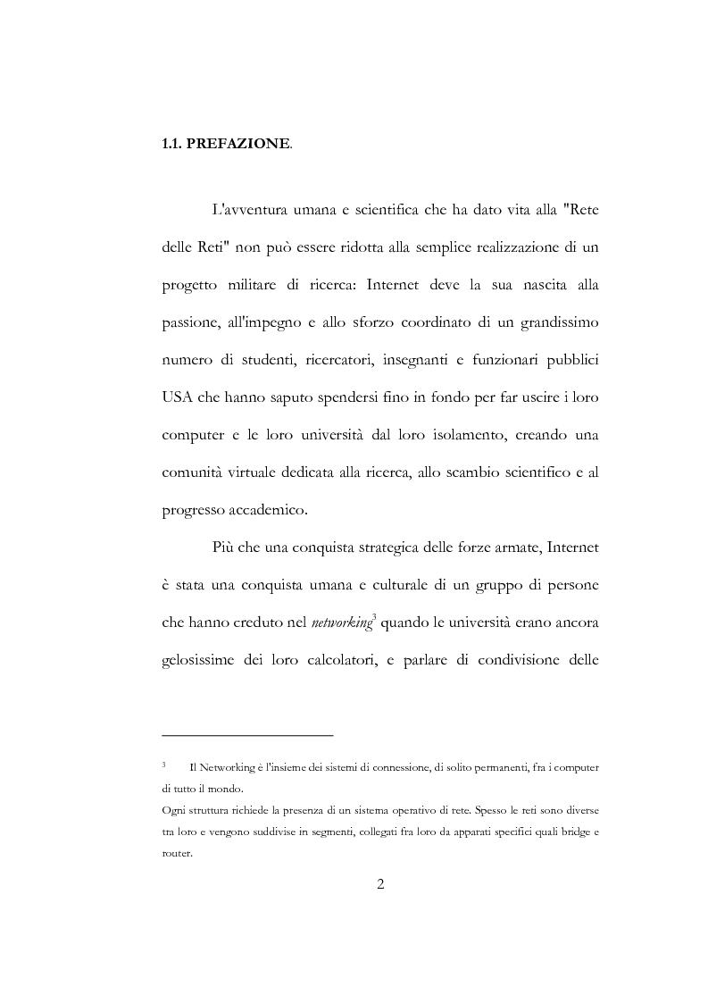 Anteprima della tesi: Etica hacker, Pagina 8
