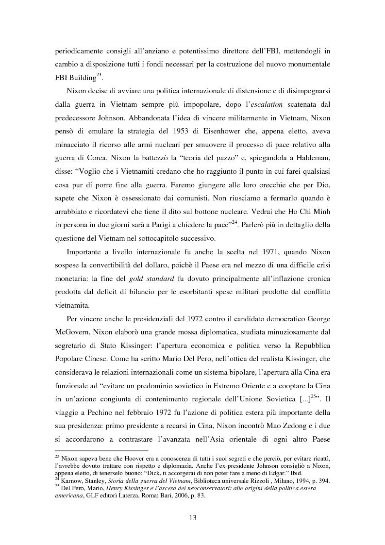 Anteprima della tesi: L'ospite indesiderato. Il governo degli Stati Uniti contro John Lennon (1971-1976)., Pagina 13