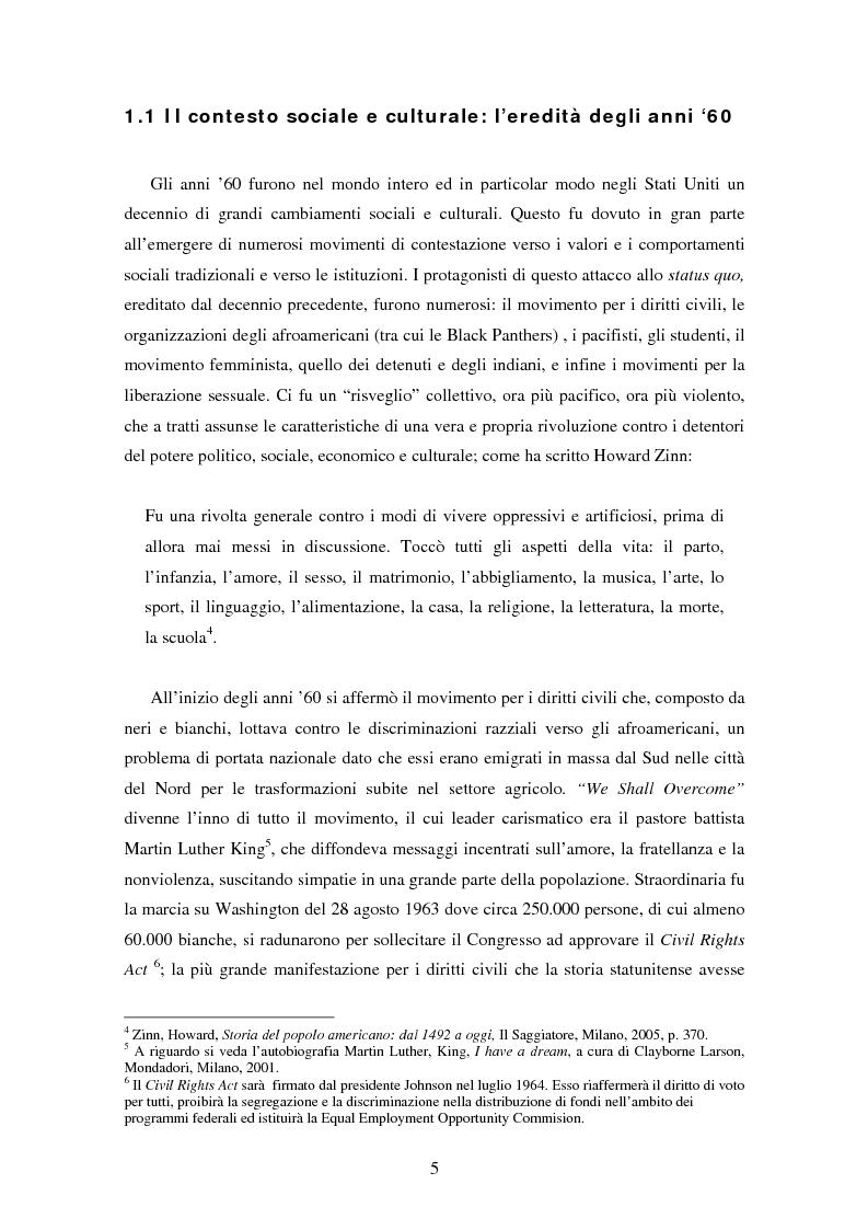 Anteprima della tesi: L'ospite indesiderato. Il governo degli Stati Uniti contro John Lennon (1971-1976)., Pagina 5