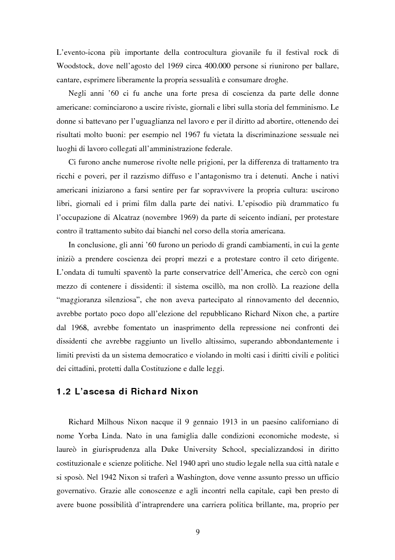 Anteprima della tesi: L'ospite indesiderato. Il governo degli Stati Uniti contro John Lennon (1971-1976)., Pagina 9