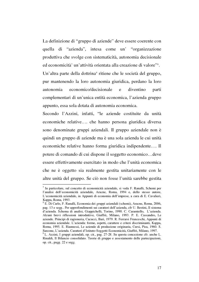 Anteprima della tesi: Le società di calcio nel contesto di gruppo aziendale: un confronto internazionale, Pagina 10