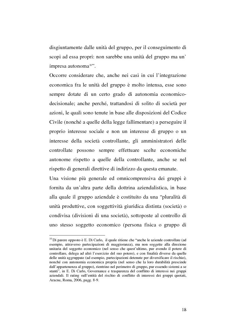 Anteprima della tesi: Le società di calcio nel contesto di gruppo aziendale: un confronto internazionale, Pagina 11