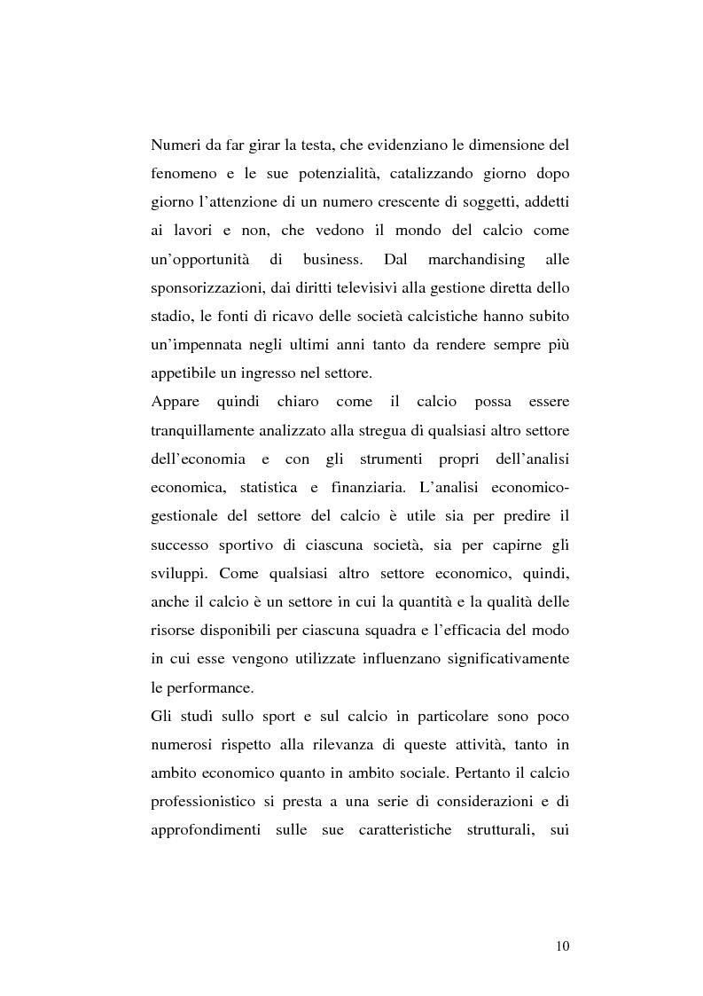 Anteprima della tesi: Le società di calcio nel contesto di gruppo aziendale: un confronto internazionale, Pagina 3