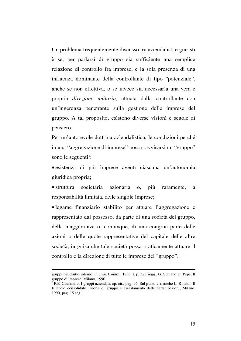 Anteprima della tesi: Le società di calcio nel contesto di gruppo aziendale: un confronto internazionale, Pagina 8