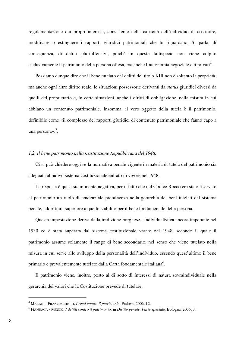 Anteprima della tesi: Il delitto di furto, Pagina 2