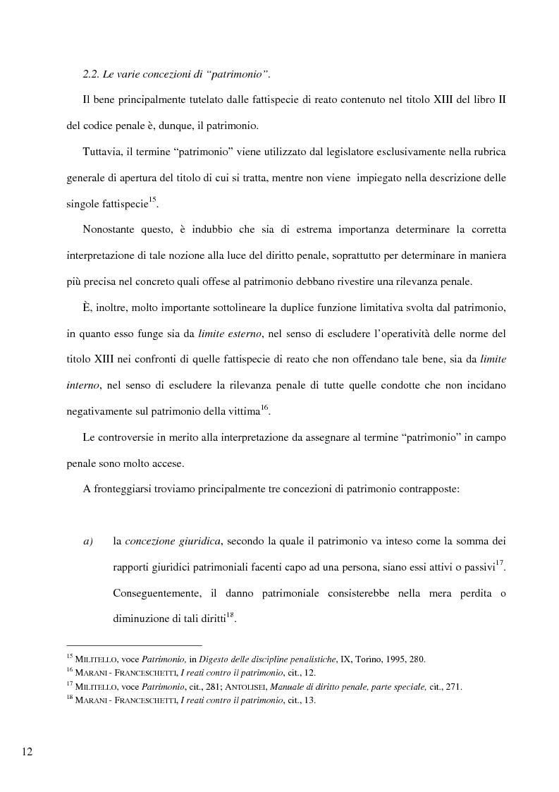 Anteprima della tesi: Il delitto di furto, Pagina 6