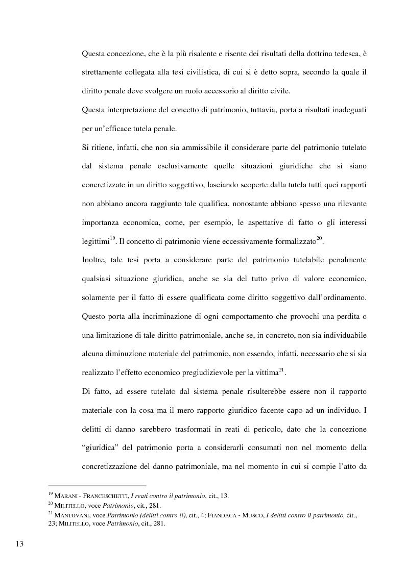 Anteprima della tesi: Il delitto di furto, Pagina 7