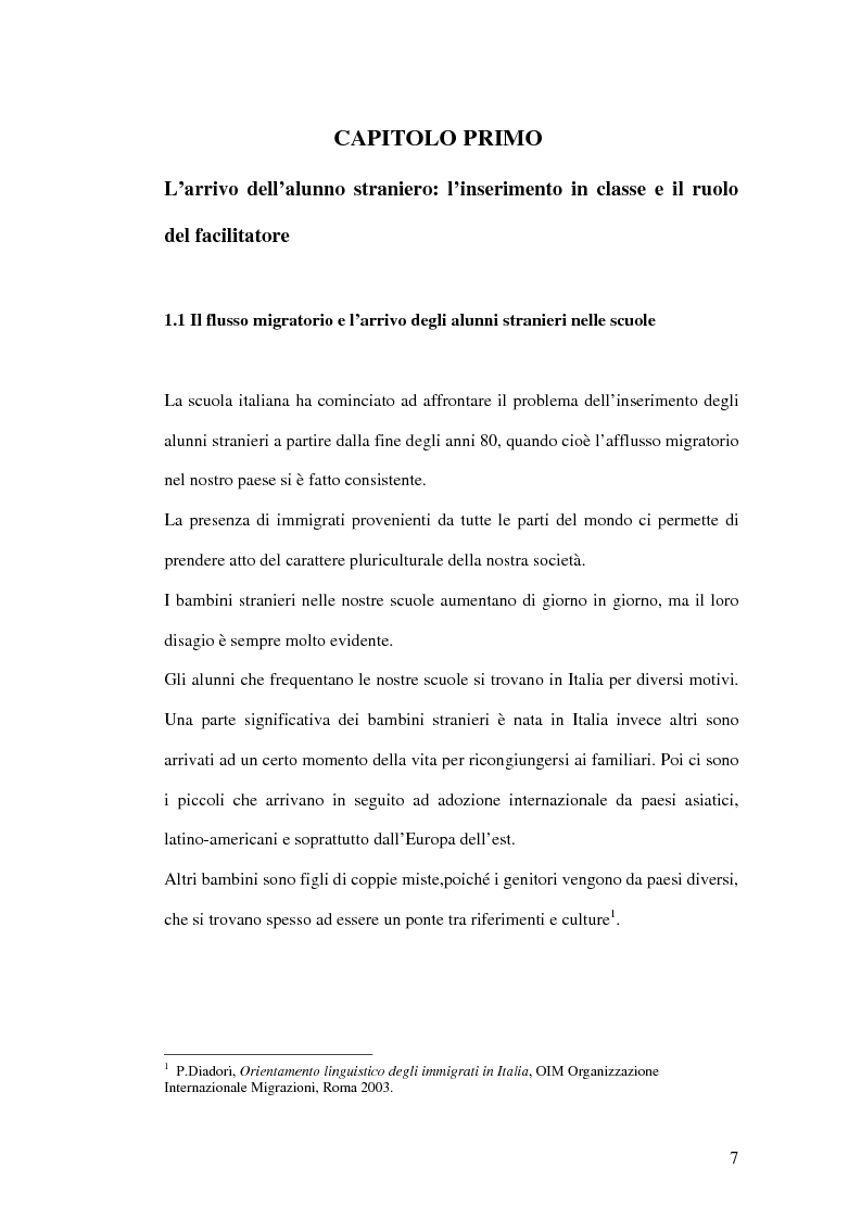 Anteprima della tesi: Le difficoltà di comprensione dei bambini stranieri e la semplificazione dei testi, Pagina 4