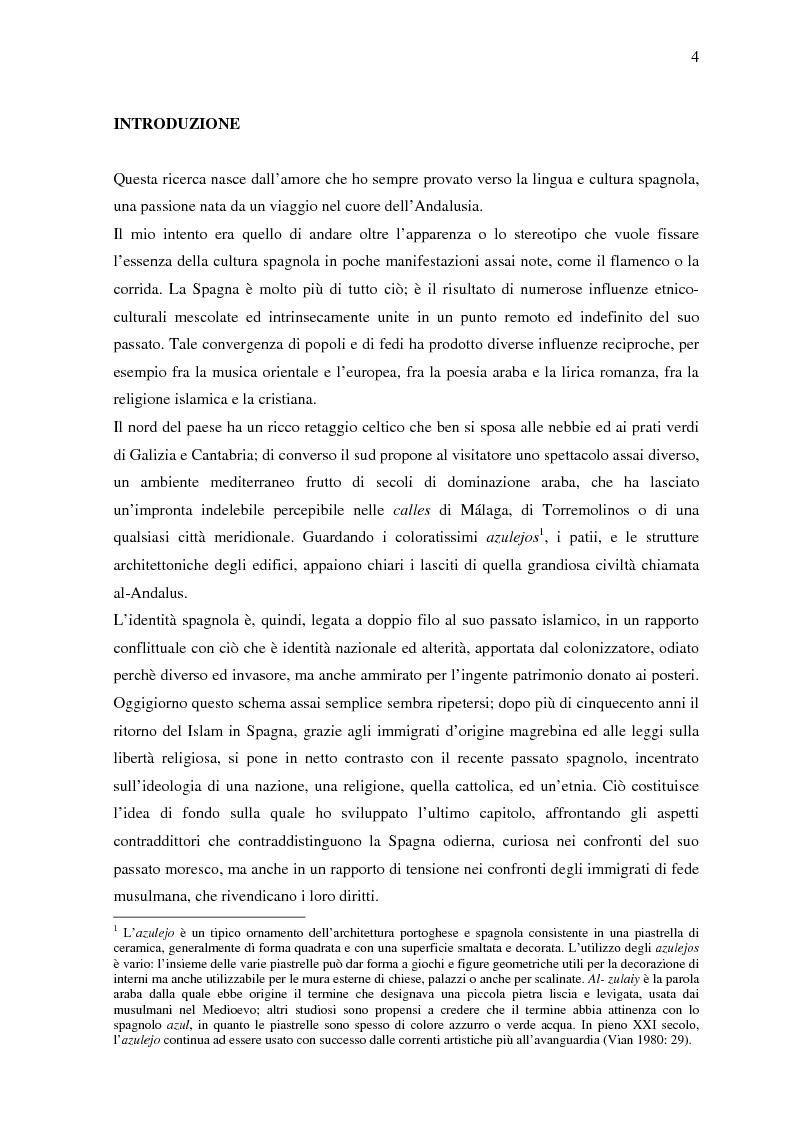 Anteprima della tesi: La donna in al-Andalus: aspetti storici e contemporanei, Pagina 1