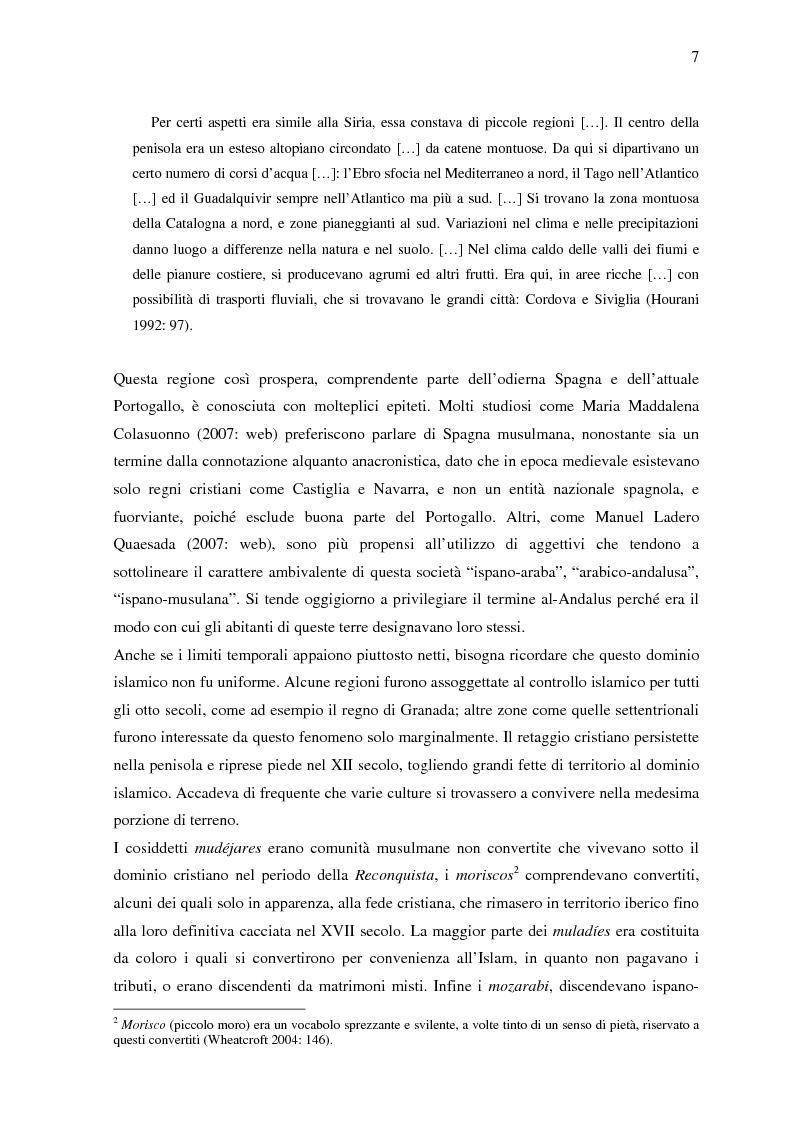 Anteprima della tesi: La donna in al-Andalus: aspetti storici e contemporanei, Pagina 4