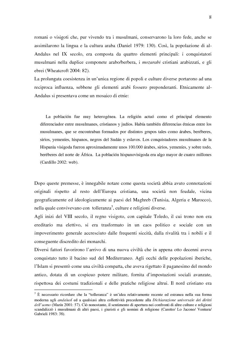 Anteprima della tesi: La donna in al-Andalus: aspetti storici e contemporanei, Pagina 5