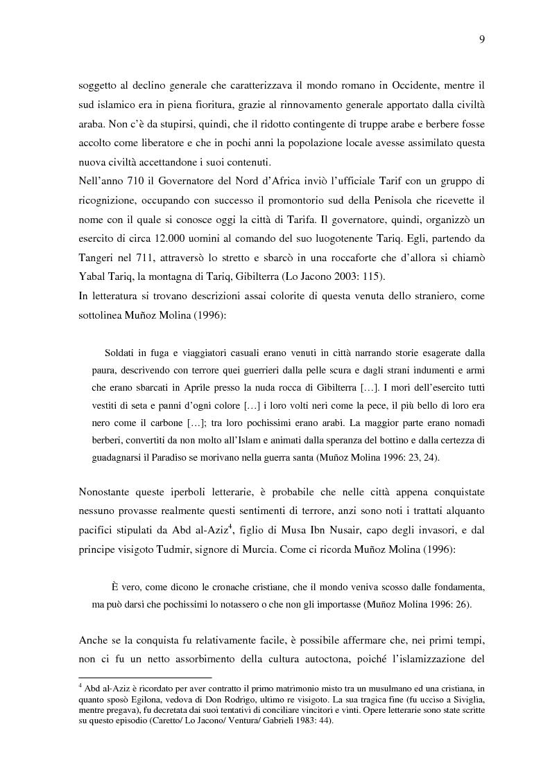 Anteprima della tesi: La donna in al-Andalus: aspetti storici e contemporanei, Pagina 6
