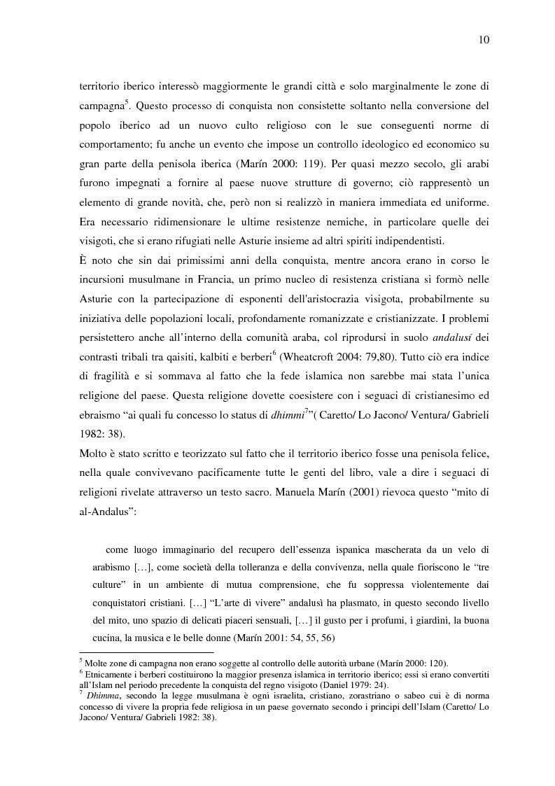 Anteprima della tesi: La donna in al-Andalus: aspetti storici e contemporanei, Pagina 7