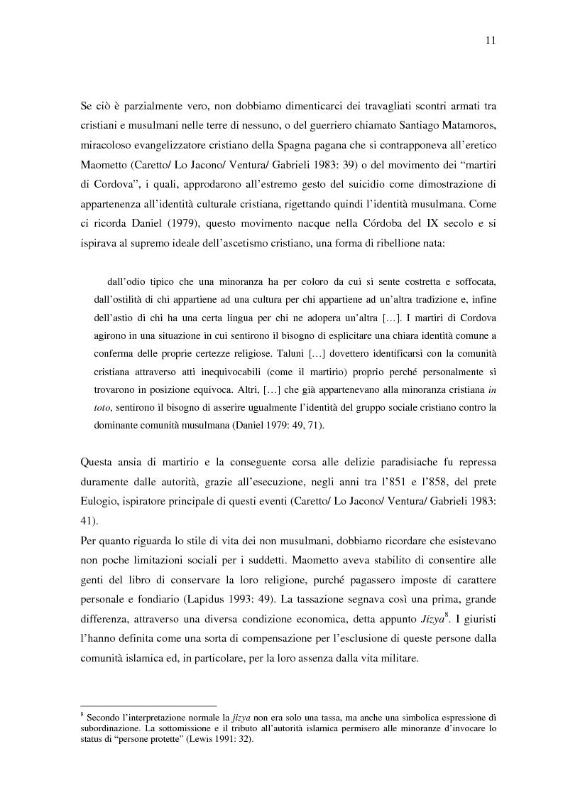 Anteprima della tesi: La donna in al-Andalus: aspetti storici e contemporanei, Pagina 8