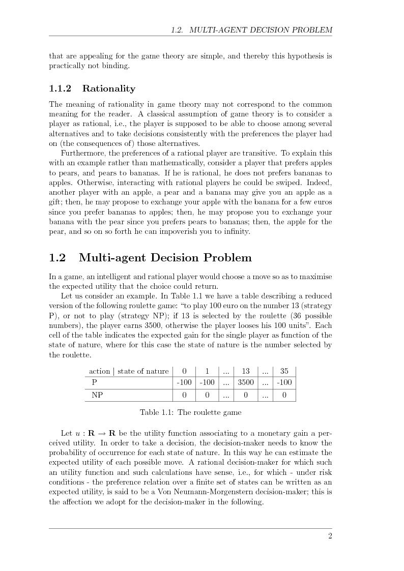 Anteprima della tesi: Game Theory for Internetworking, Pagina 2