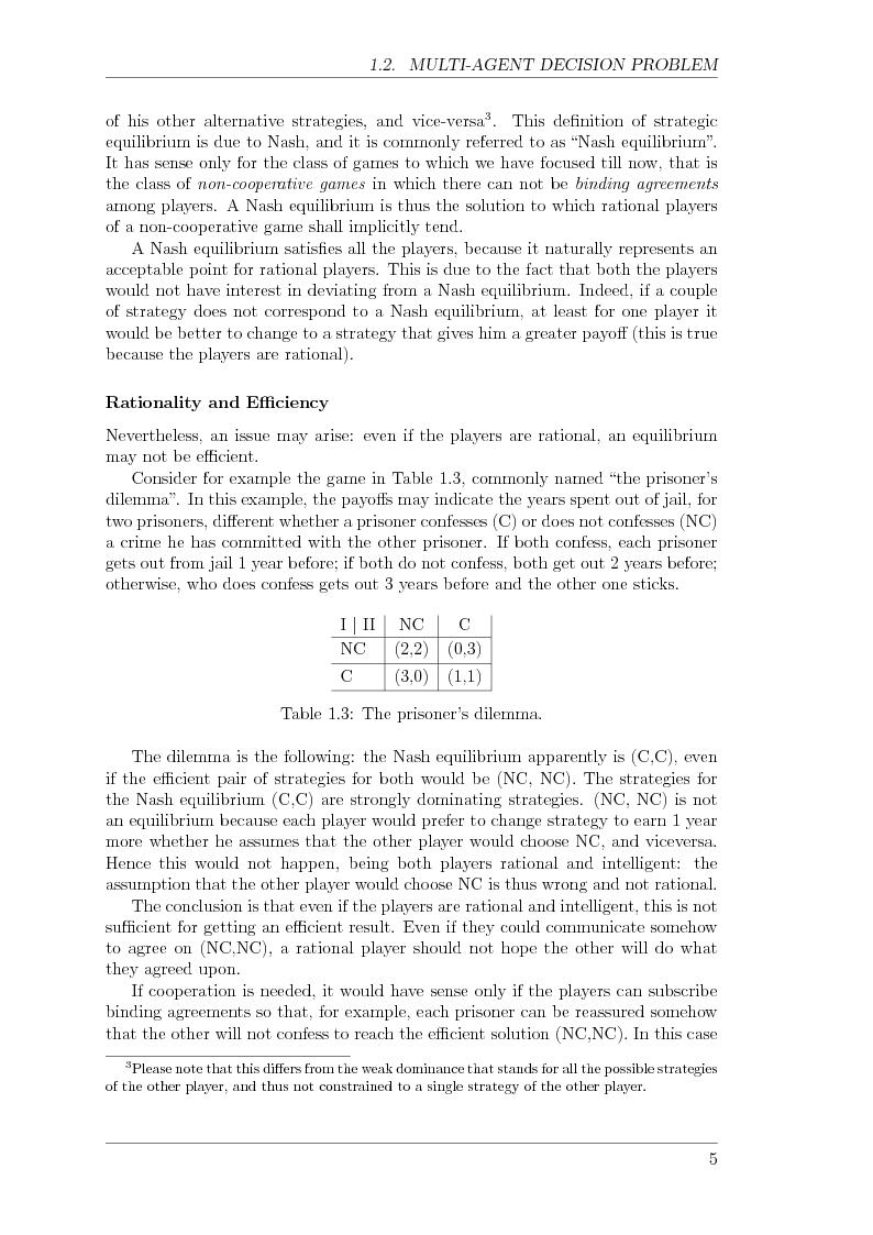 Anteprima della tesi: Game Theory for Internetworking, Pagina 5