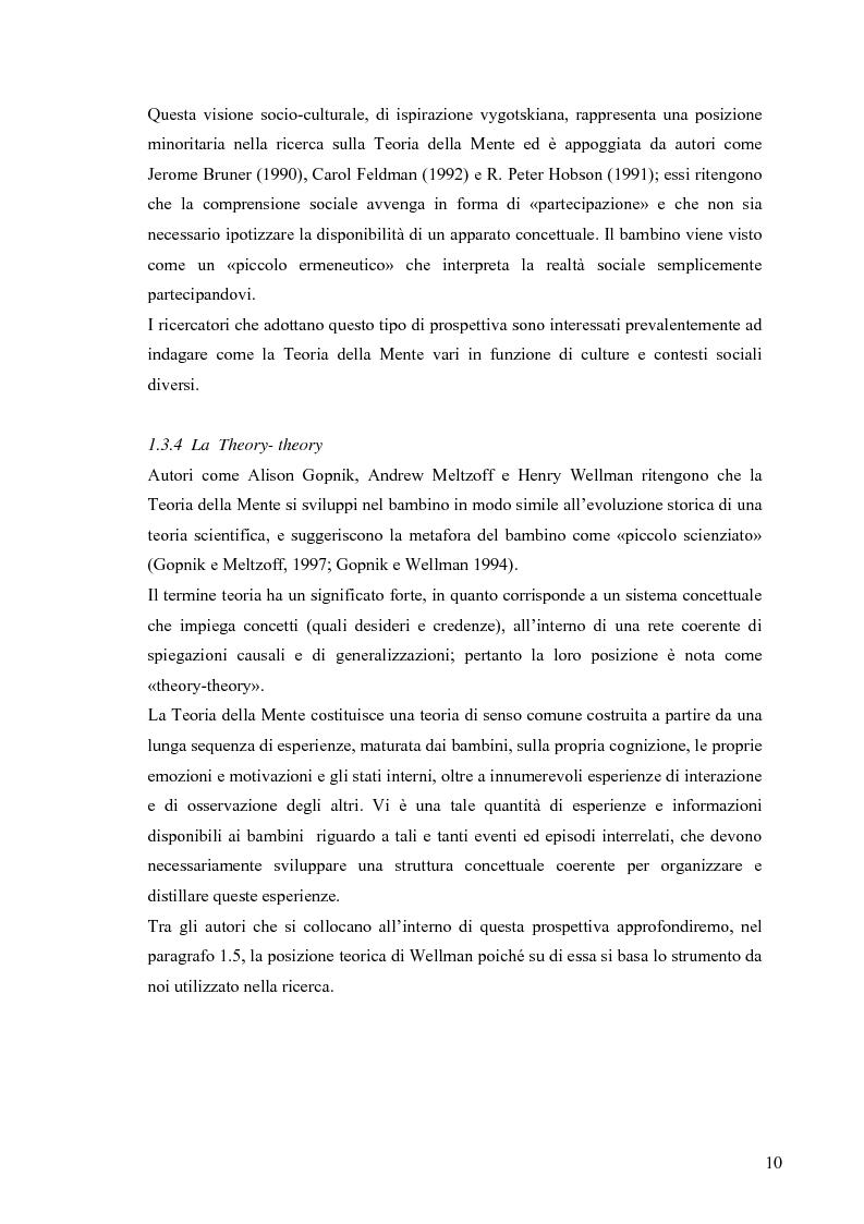 Anteprima della tesi: Un contributo alla validazione italiana del Tom Storybooks, Pagina 8
