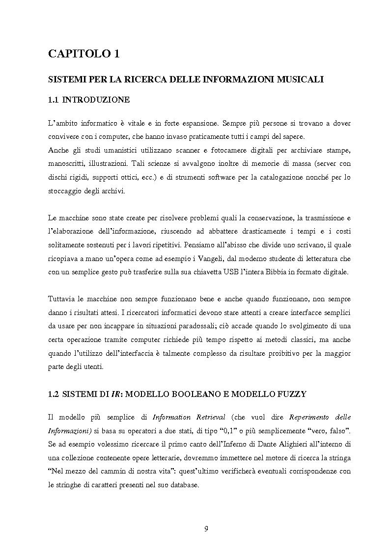 Anteprima della tesi: Analisi di interfacce per la ricerca di brani musicali: finalità mood-based e prototipo di Music Mood Galaxy, Pagina 3
