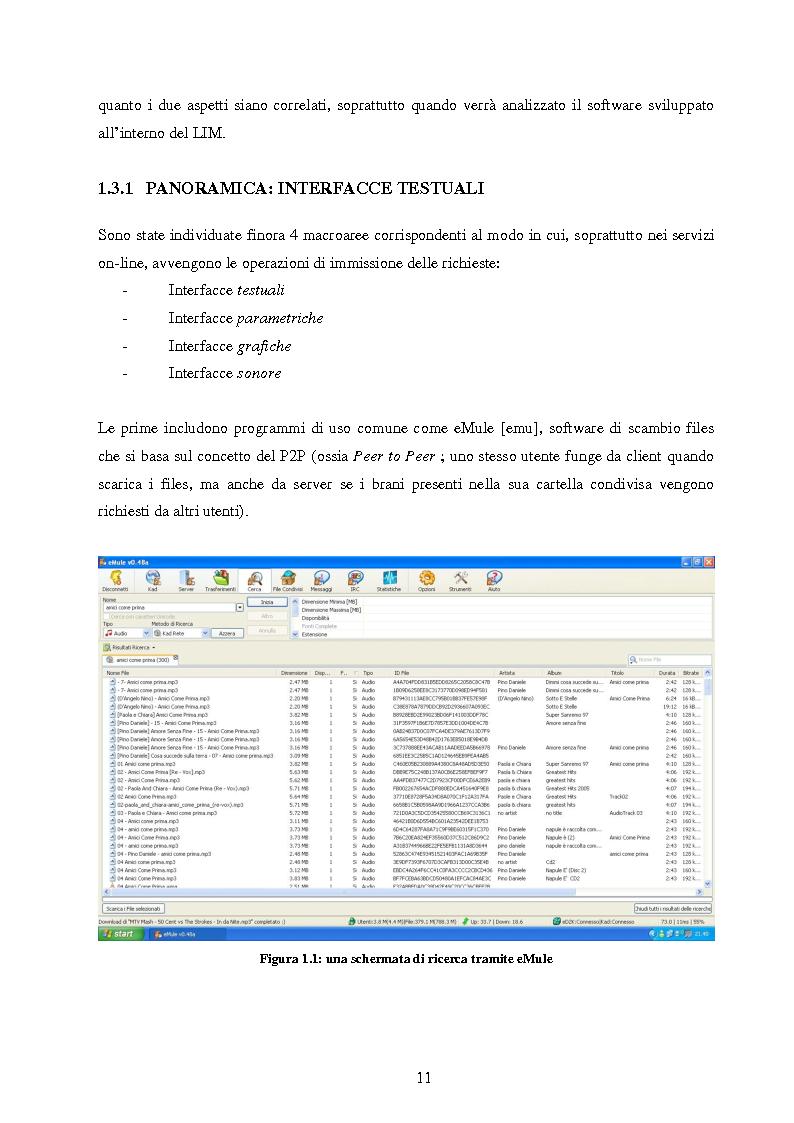 Anteprima della tesi: Analisi di interfacce per la ricerca di brani musicali: finalità mood-based e prototipo di Music Mood Galaxy, Pagina 5