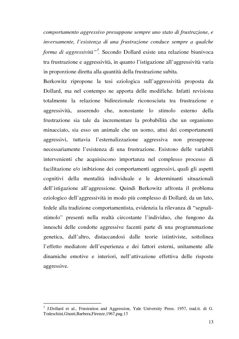 Anteprima della tesi: L'interazione tra fattori genetici e ambientali nelle condotte aggressive e antisociali degli adolescenti: il ruolo del polimorfismo MAOA (monoamina ossidasi-A), Pagina 10