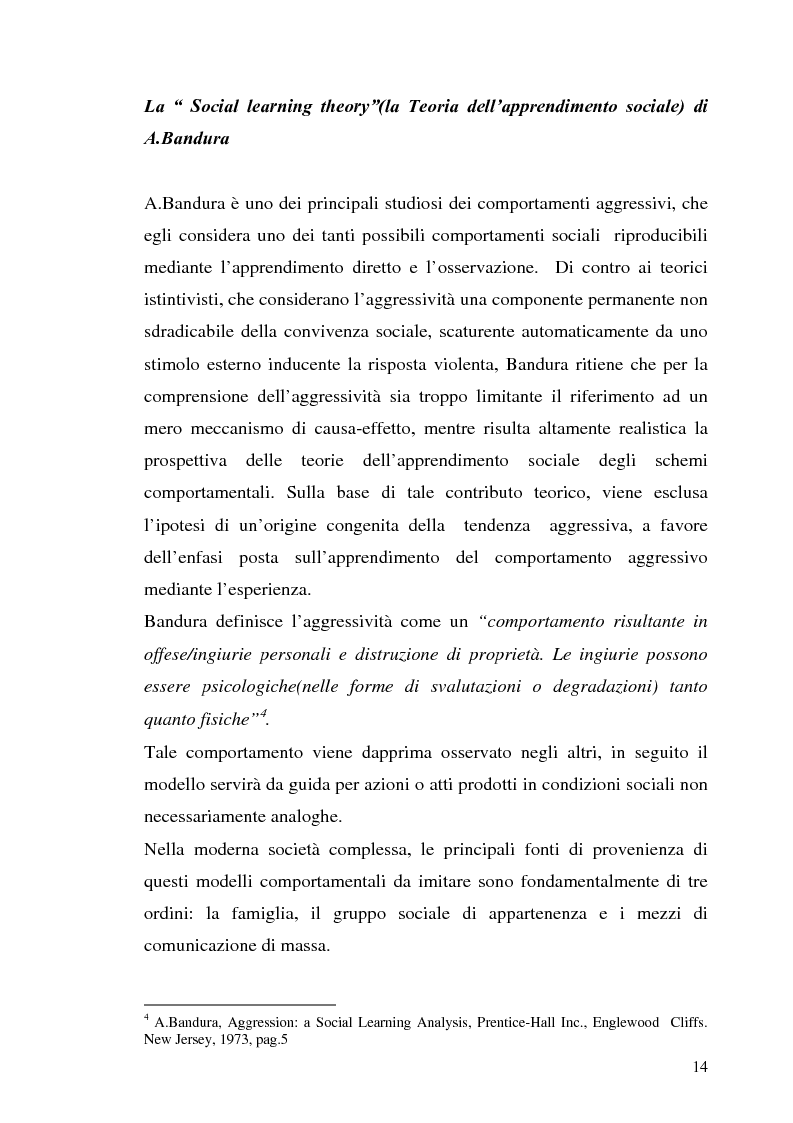 Anteprima della tesi: L'interazione tra fattori genetici e ambientali nelle condotte aggressive e antisociali degli adolescenti: il ruolo del polimorfismo MAOA (monoamina ossidasi-A), Pagina 11