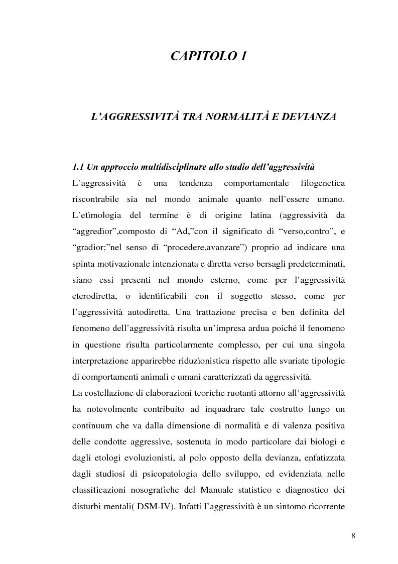 Anteprima della tesi: L'interazione tra fattori genetici e ambientali nelle condotte aggressive e antisociali degli adolescenti: il ruolo del polimorfismo MAOA (monoamina ossidasi-A), Pagina 5