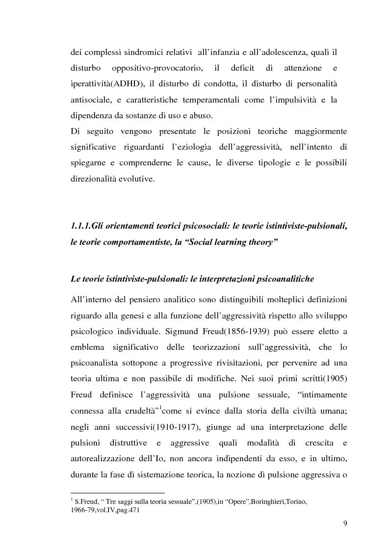 Anteprima della tesi: L'interazione tra fattori genetici e ambientali nelle condotte aggressive e antisociali degli adolescenti: il ruolo del polimorfismo MAOA (monoamina ossidasi-A), Pagina 6