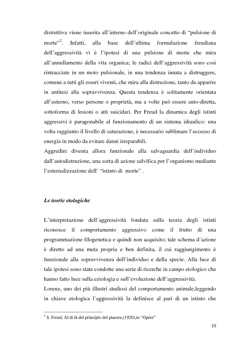 Anteprima della tesi: L'interazione tra fattori genetici e ambientali nelle condotte aggressive e antisociali degli adolescenti: il ruolo del polimorfismo MAOA (monoamina ossidasi-A), Pagina 7
