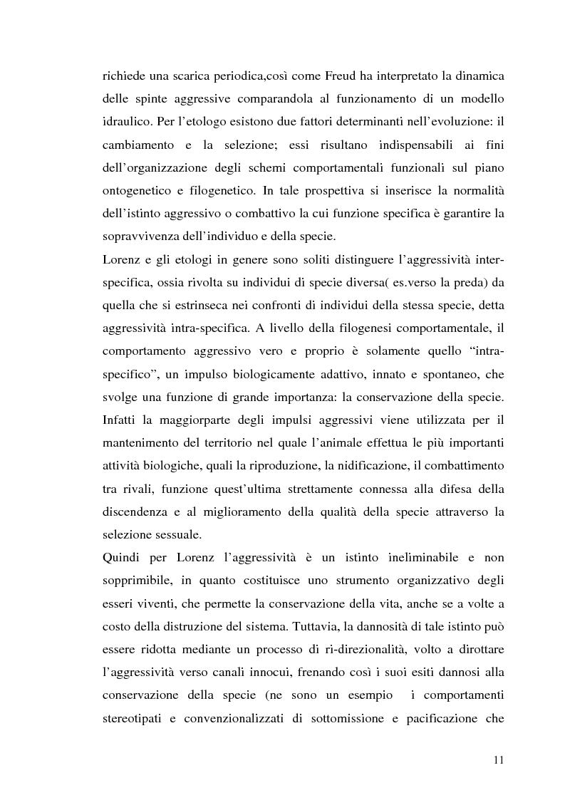 Anteprima della tesi: L'interazione tra fattori genetici e ambientali nelle condotte aggressive e antisociali degli adolescenti: il ruolo del polimorfismo MAOA (monoamina ossidasi-A), Pagina 8